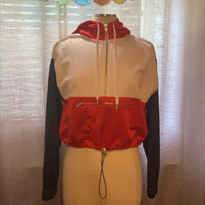 Forever 21 cropped zipper hoody